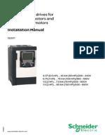 Schneider Altivar ATV71 90kW Manual
