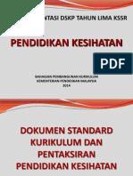 4. Kursus Orientasi DSKP Pendidikan Kesihatan Tahun 5
