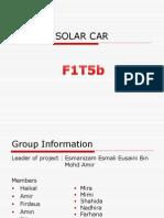 Presentation Solar Car1