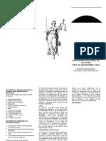 Triptico de Documento Legales y