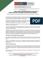 POLICÍA NACIONAL PUSO A DISPOSICIÓN DE LA FISCALÍA  A EFECTIVOS INVOLUCRADOS EN TRÁFICO DE DROGAS.doc