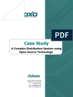 Case Study - Complex Open Source Distribution System