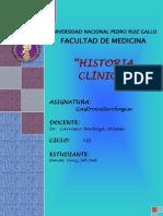 Historia Clinica Gastro