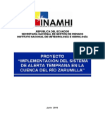 Proyecto Sat Zarumilla Inamhi