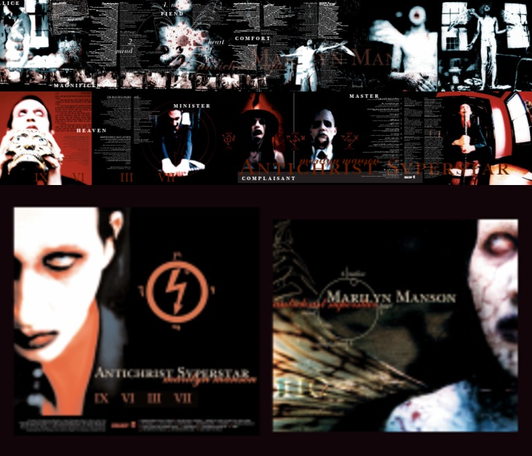 Lyric antichrist superstar lyrics meaning : Digital Booklet - Antichrist Superstar | Leisure | Entertainment ...