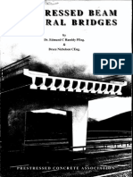 PCA - Prestressed Beam Integral Bridges