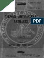 German Antiaircraft Artillery