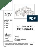 60inch Mower T1360
