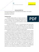 Protocolo Estatus Epilectico 2013