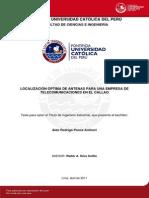Antenas Telecomunicaciones Callao