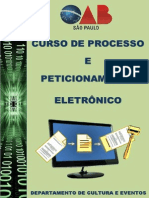 Curso Processo Peticionamento Eletronico