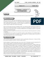 3er. Año - HU - Guía 4 - La Reforma Católica.doc