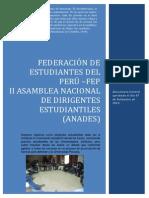 II ANADES - FEP 07-09-2013