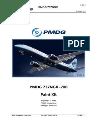 PMDG-737NGX-Paint-Kit pdf | Copyright | Adobe Photoshop