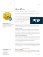 Aerohive Datasheet HiveOS-Switching