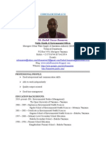 Curiculum Vitae PDF