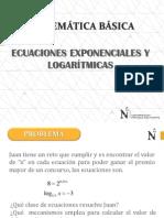 4_ecuaciones Exponenciales y Logaritmicas