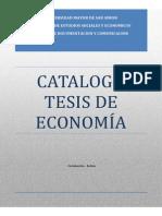 Catalogo Tesis Economia Iese