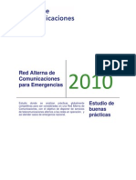 Red Alterna de Comunicaciones Para Emergencias Diagnostico
