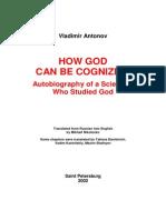 Antonov, Vladimir - How God Can Be Cognized