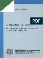 Penalver Gomez Margenes de Platon