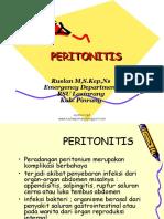 Asuhan Keperawatan Klien dengan Peritonitis