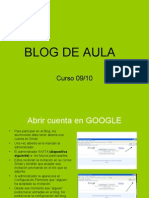 Power Point Blog de Aula