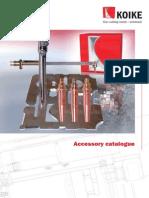 Accessory Catalogue KOIKE
