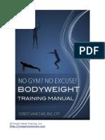 Bodyweight Training Manual