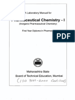Pharmaceutical Chemistry - I(5Exp)(807)