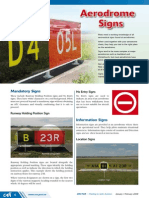 Aerodrome Signs