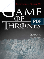 Game of Thrones Season One Ultimate Unofficial Guide_ the Game of Thrones Season 1
