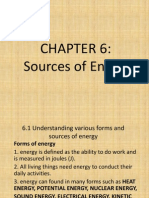 Form 1 Chapter 6 Energy