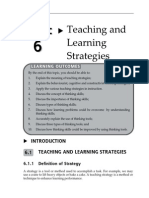 Topic 6 Teaching and Learning Strategies (1)