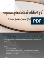 5-Neoplasias Linfoides Pt2-Neoplasias de Precursores de Cel.