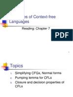 Cfl Properties