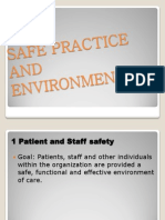Safe Practice and Environment.report