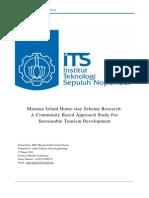 Project Proposal of Maratua Homestay Scheme Research