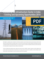 New Report Infrastructure Sector in India