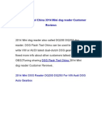 DSG Flash Tool China 2014 Mini dsg reader Customer Reviews