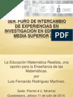 Ponencia Luis Fernando Rodriguez Martinez P11