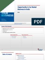 Opportunity in Car Rental Business in India_Feedback OTS_2014