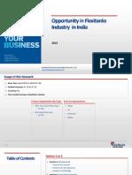Opportunity in Flexitanks Industry in India_Feedback OTS_2014