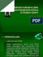 Desain Lab & Prosedur Kerja Rs