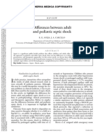 Diferencias Sepsis Adulto Pediatrico Minerva Anestesiol 2011