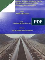 1.- Diseño Mecanico - Transportador de Faja