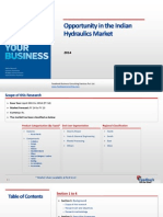 Opportunity in the Indian Hydraulics Market_Feedback OTS_2014