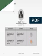 Slideshop Free Slide Porters Five Forces Strategy