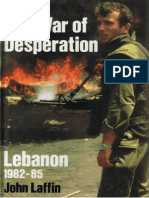 Osprey - EH the War of Desperation - Lebanon 1982-1985