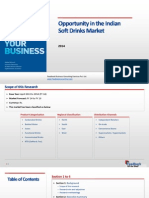Opportunity in the Indian Soft Drinks Market_Feedback OTS_2014